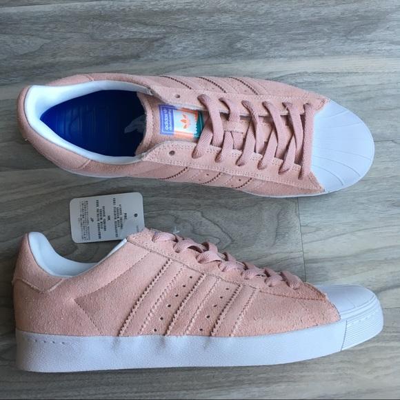 le adidas rosa pastello scarpe m85w10 poshmark